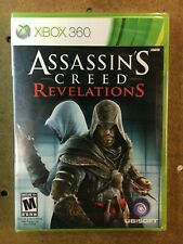 XBOX 360, ASSASSINS CREED REVELATIONS BRAND NEW, FACTORY SEALED, FREE SHIPPING!!