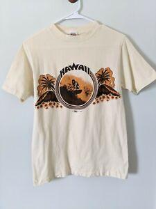 Vintage Crazy Shirts Single Stitch T Shirt Tourist Tee Hawaii 1973