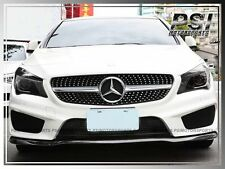 Carbon Fiber Front Bumper Lip Extension Cover for 2013+  C117 W117 CLA250 AMG