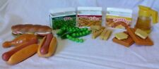"""Vtg Fisher Price 1987 Fun With Food """"Lot"""""""