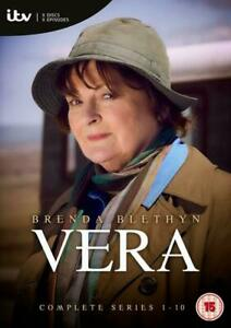 Vera: Complete Series 1-10 (DVD, 2020, Set of 20 Discs) please read description