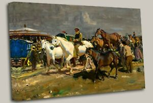 Sir Alfred Munnings The Coming Storm, 1910. Wall Art Picture Print