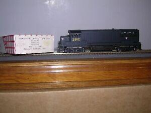 STEWART #7100  P.R.R. G.E. U25B Diesel Loco #2502 KIT  H.O. 1/87