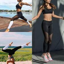 Women Yoga Fitness Leggings Running Stretch Gym Sports Pants Workout Trousers HZ