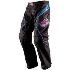 MSR Women's MX Motocross Riding Gem OTB Pants Black Blue Pink Size 8