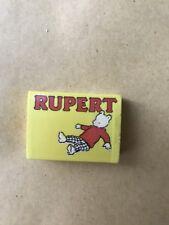 Novelty Rubber Eraser Vintage Rupert Bear