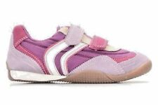 Geox Purple/Lilac Soft Flexible Sneakers  NON-Tie Girls Size 1