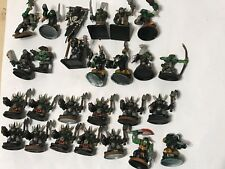25 Plastic GW Warhammer 40K ORK BUNDLE Inc' SPACE THE GOFF CLAN pro painted