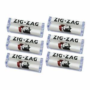6 x Zig Zag Acrylic Plastic Rolling Machine 70mm Roller