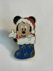 TDR Tokyo Holiday 2016 Game Mickey Mouse Stocking Disney Pin 140867 (A4)