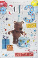 Son 3rd Birthday Card
