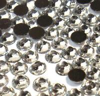 1500 Hotfix Strasssteine 2mm SS6 CRYSTAL KLAR GLAS STRASS Bügelsteine BEST 1