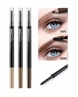 Maybelline BROW PRECISE MICRO PEN 2in1 Eyebrow Pencil & Spoolie Brush NEW IN