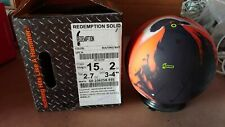 New 15lb Hammer Redemption Solid Bowling Ball 22129