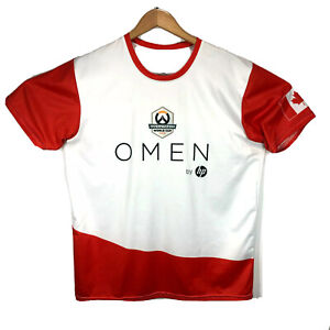Overwatch World Cup 2018 Team Canada Jersey XL E Sports Mint Gamer Gaming