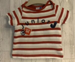 Boys Age 0-3 Months - Junior J Summer Top