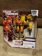 TRANSFORMERS Generations SANDSTORM Thrilling 30 Voyager Class 2014 NEW! SEALED!