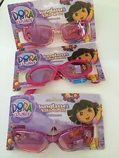 Girls Nickelodeon Dora the Explorer UV Sunglasses Children Toddler Kid 3 Pairs!!