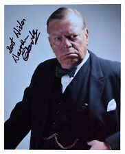 Warren Clarke SIGNED 10x8 Photo Autograph TV Winston Churchill AFTAL & COA