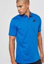 Nike Matchup Polo Size Large Blue Men's Polo Shirt 833885 433