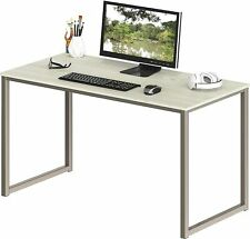 Gaming Desk, Work from Home Office 48-Inch Computer Desk, Maple