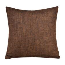 """16""""/18""""/20"""" Pillowcase Thicken Linen Solid Color Cushion Cover Car Sofa Decor"""
