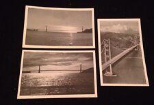 Lot Of 3 Golden Gate Bridge -San Francisco-California-Bardell Vintage Postcards