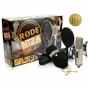 Rode NT2-A - Large Diaphram Condenser Microhpone - Studio Solution Pack