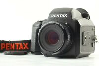 [ Attention!! ] Pentax 645N Medium Format Camera SMC A 75mm Lens Strap JAPAN 1