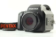 [Attention] Pentax 645N Mittelformat Kamera Smc A 75mm Objektiv Band Japan 1