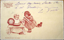 1905 Perfume Advertising Postcard: Ed. Pinaud - Paris, France, w/Cat