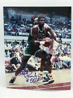 Robert Parish Signed 8x10 Photo Autographed Boston Celtics HOF