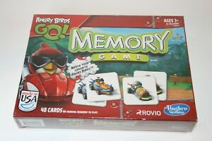 Angry Birds Go! Memory Game Cards No Reading Matching Tiles Toddler Kid Toy 2013