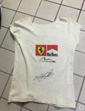 Michael Schumacher Ferrari shirt worn and signed