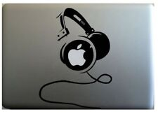 "Macbook 13"" Auriculares Dj Apple Decal Sticker (pre-2016 MB Pro/Air solamente)"