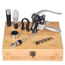 Rabbit Wine Corkscrew Opener Set, Wine Aerator Pourer, Vacuum Stopper, Foil Drip