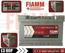 L380P BATTERIA AUTO FIAMM  TITANIUM PRO 80Ah 730A +DX = 74AH BOSCH 0092s40080