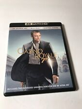 Casino Royale 4K UHD Blu-ray Combo - James Bond daniel craig