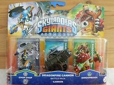 Skylanders Giants-Dragonfire Cannon Battle Pack Trap Team Superchargers NEU