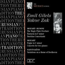 amille Saint-Sans - The Russian Piano Tradition: Emil Gilels and Yakov Zak [CD]