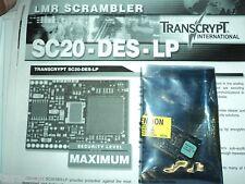 Transcrypt Lmr Scrambler Maximum Protection Des Encryption Board Sc20-Des-Lp