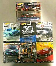 LOT of 7 Hot Wheels Nissan Skyline C10 Wagon GTR Van Datsun Bluebird 510 Team