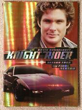 Knight Rider, Final Season (4), 3 DVD Set, Hasselhoff, Gorgeous LN! FREE SHIP!!