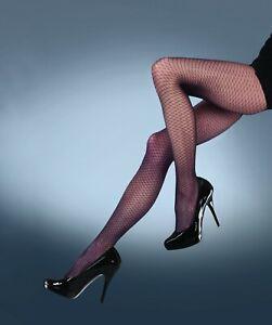 Quality Fishnet Tights UK Made Sexy Brand New Black Avant Garde Fishnet Tights