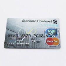Standard chartered PLATINUM CREDIT CARD 8 GB USB 2.0 Flash Drive Memory Stick