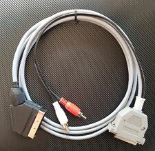 Amiga RGB SCART TV  Kabel 1,0 Meter HighQuality geschirmt (shielded) 23polig