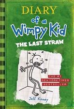 Diary of a Wimpy Kid: The Last Straw, Jeff Kinney, Good Condition, Book