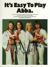 Learn It's Easy To Play ABBA Hit Songs Dancing Queen PIANO BEGINNER MUSIC BOOK