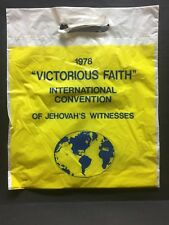 New listing Watchtower/Jehovah item: 1978 International Convention Magazine Bag [ever seen?]