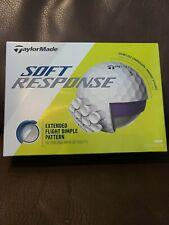 TaylorMade Soft Response Golf Balls - White 1 dozen brand new